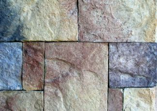 beautiful multi coloured flagstones at Townsville Pavers
