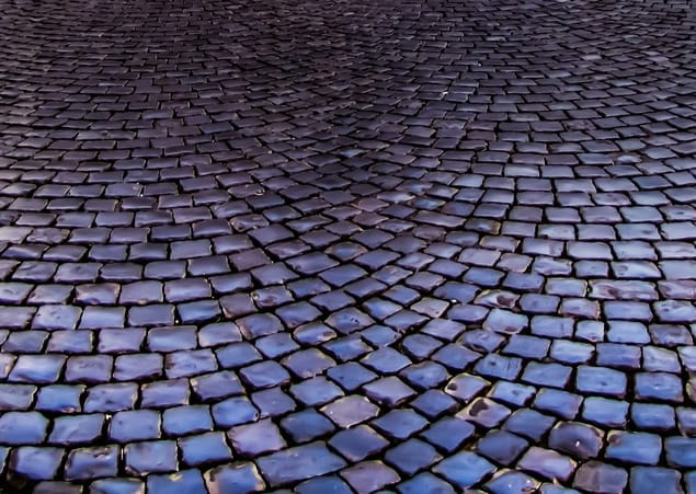 shiny pavers at Townsville Pavers